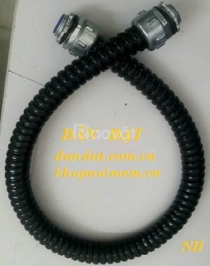 Ống luồn dây điện/ ống ruột gà bọc lưới/ ống thép mềm luồn dây điện