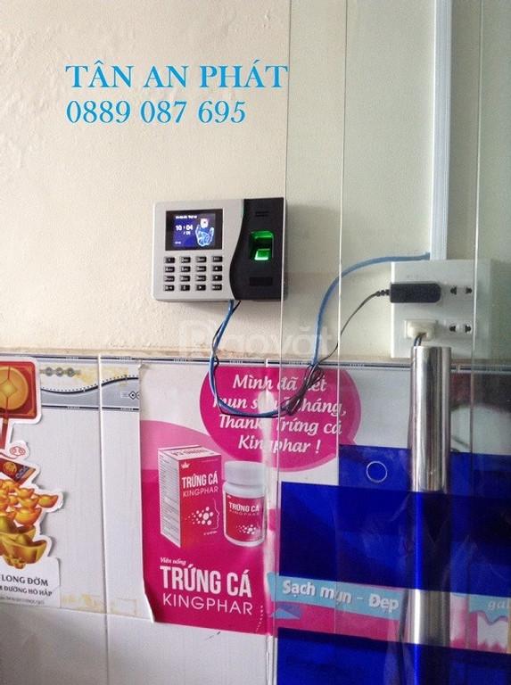 Chuyên bán máy chấm công chính hãng tại Vĩnh Long