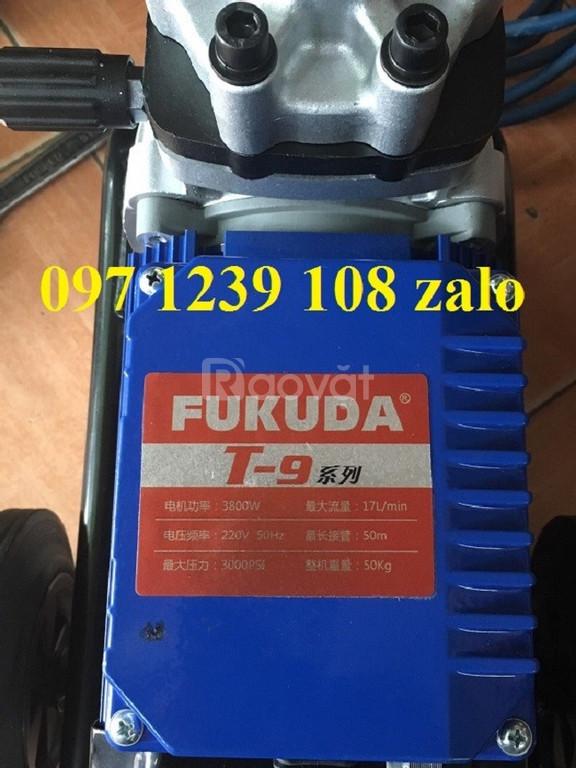 Tìm hiểu dòng máy phun sơn 2 đầu Fukuda T9 cùng Điện Máy Hòa Phát