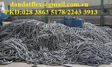 Lưới inox 316, dây đồng bện tiếp địa, mối nối mềm inox