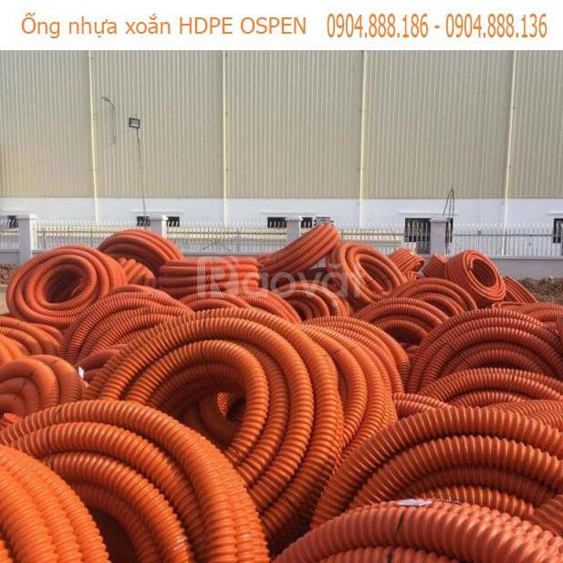 Kinh doanh ống nhựa xoắn hdpe ospen ϕ25mm - ϕ250 mm