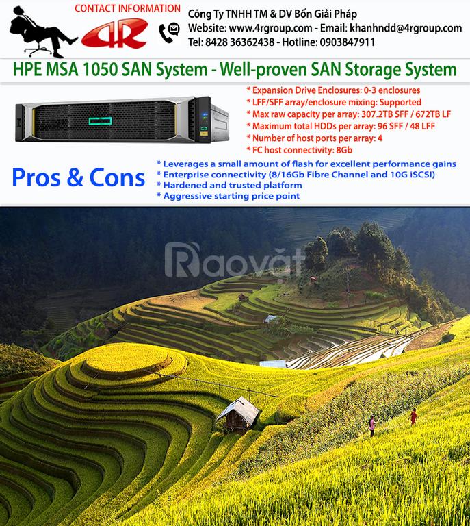 HPE msa 1050 san Storage