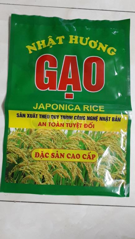 In bao bì túi nilon đựng gạo giá rẻ