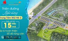 Sở hữu đất nền biệt thự biển giá đầu tư chỉ 15 triệu/m2, TT 24 tháng