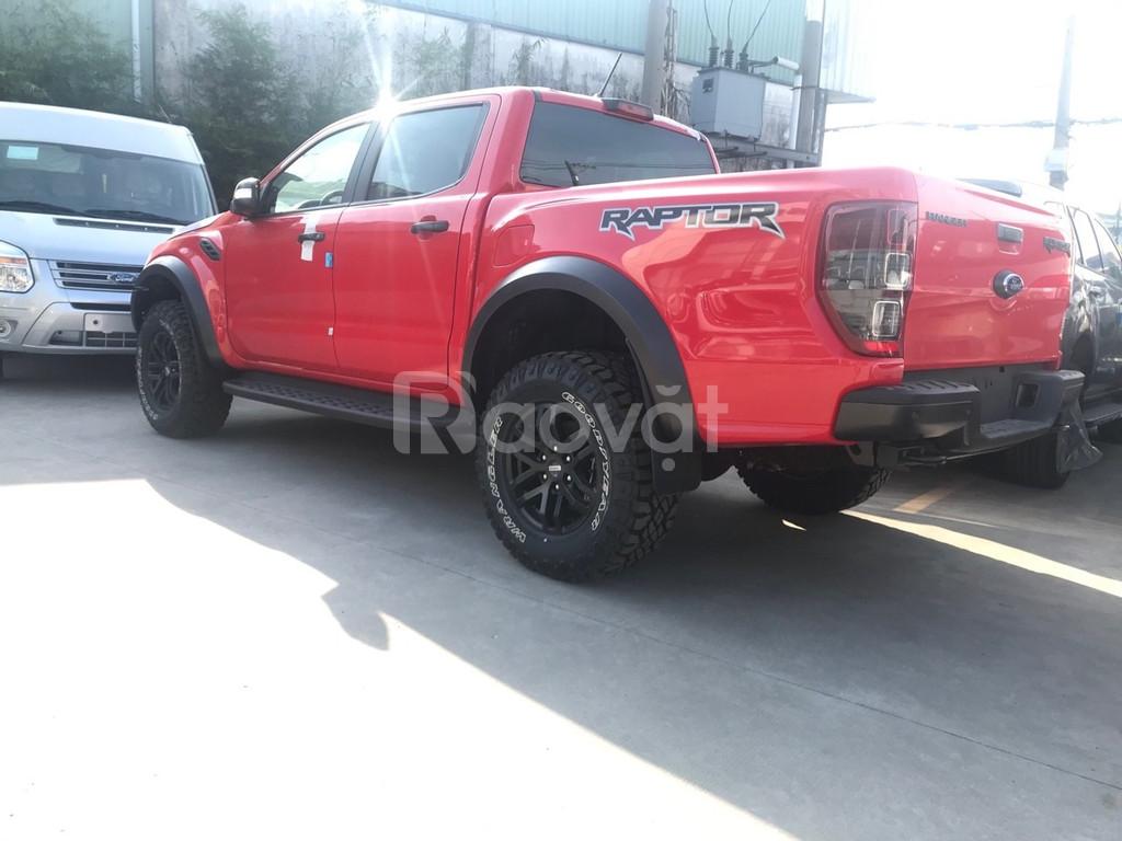 Vua bán tải Ranger raptor 2019 giao xe ngay toàn quốc