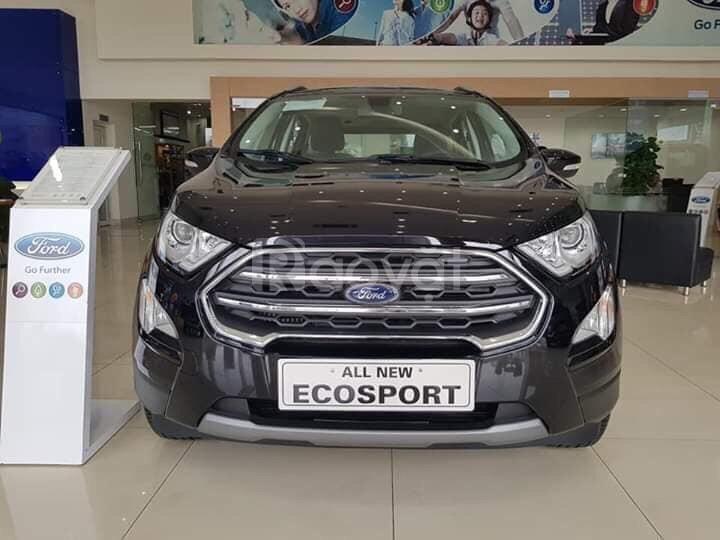 Ecosport 2019 giảm giá đến 60 triệu - trả trước 190 triệu nhận xe ngay
