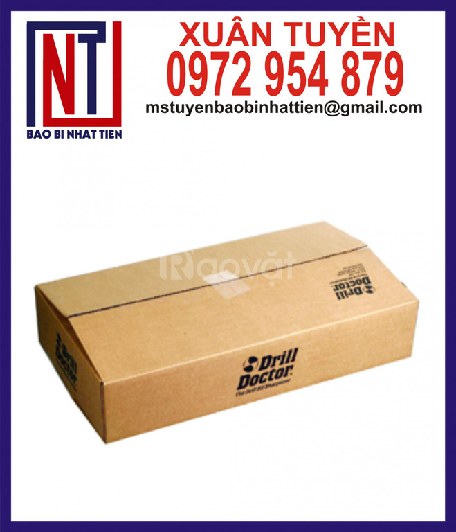 Bao bì carton đựng hàng gia dụng