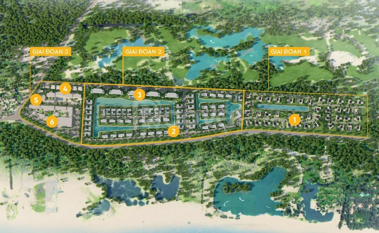 Bán biệt thự biển Hồ Tràm - Coastar Estate Hồ Tràm view hồ sđẹp