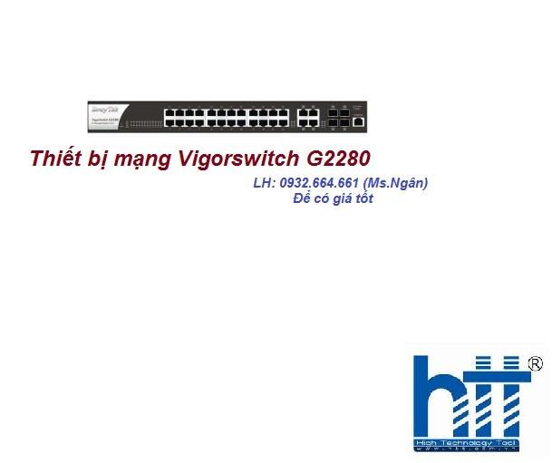 Thiết bị mạng Vigorswitch G2280