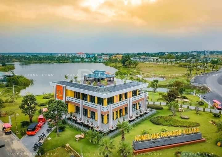 Đất nền biệt thư HomeLand Paradise mặt tiền hồ - giá 19,2 triệu/m2