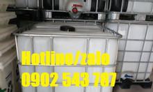 Bồn chứa 1000l bồn hóa chất 1000 lít; ibc 1000l đựng hóa chất
