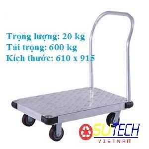 Xe đẩy hàng tải trọng lớn lên đến 600 kg