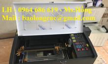 Máy khắc dấu laser 3020, máy laser mini 3020 khắc dấu giá rẻ