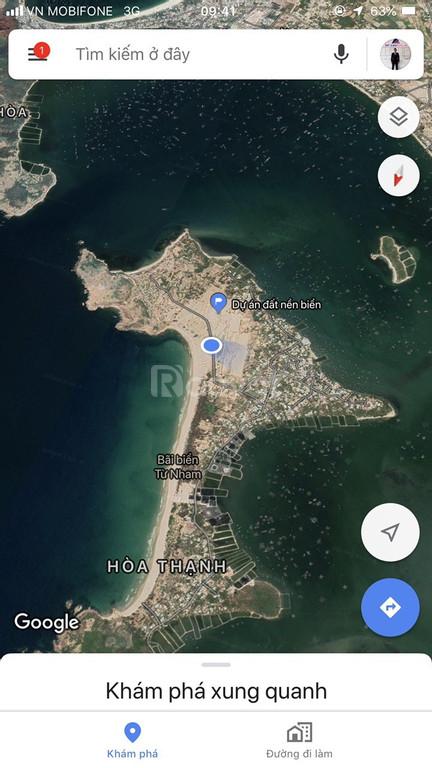 Cần tiền bán gấp lô đất nền sổ đỏ ngay cạnh biển Phú Yên giá tốt (ảnh 6)