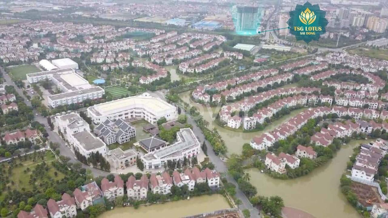 Mua nhà tại dự án TSG lotus Sài Đồng giá chỉ từ 24.5tr/m2