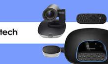 Webcam Logitech Group lý tưởng cho phòng họp trực tuyến lớn