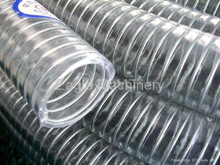 Ống nhựa thẳng xanh dẹt dùng tải bùn nước