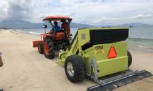 Máy làm sạch bãi biển- Máy cào rác bãi biển