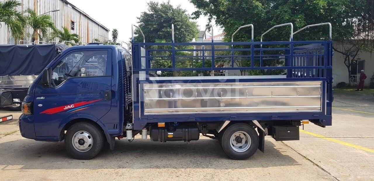 Xe Tải Jacx150 thùng bạt tải trọng 1T49 l xem xe tại cầu Bến Cát 2