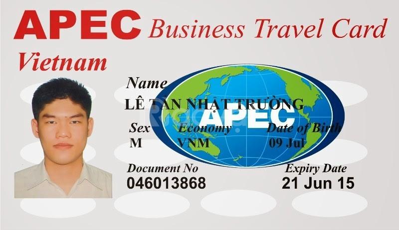 Các thủ tục làm thẻ APEC