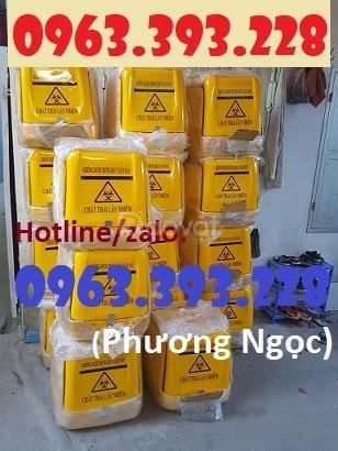 Thùng chở rác thải y tế, thùng vận chuyển chất thải nguy hại
