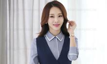 Công ty may đồng phục áo gile nữ đồng phục giá rẻ, giao hàng Toàn quốc