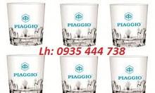 Chuyên in ly thủy tinh,in logo cốc thủy tinh giá rẻ Quảng Nam