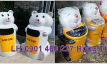 Công ty phân phối thùng rác hình thú vật, thùng rác con vật, cá heo