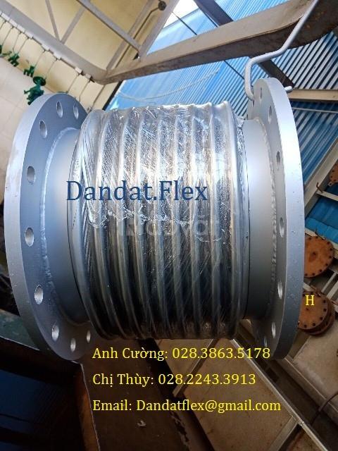 Chọn khớp nối mềm inox, khớp giãn nở DE-100, khớp co giãn DE200 (ảnh 5)