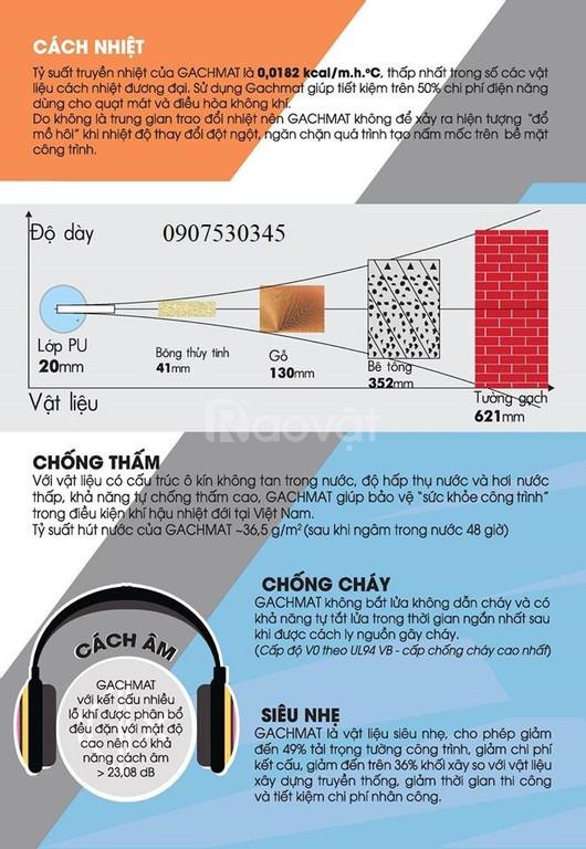 Giải pháp cách nhiệt, cách âm, chống nóng, dựng vách cho nhà mái