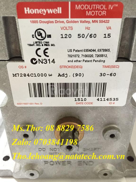 Động cơ điều khiển Honeywell M7284C1000 - Cty TNHH Natatech