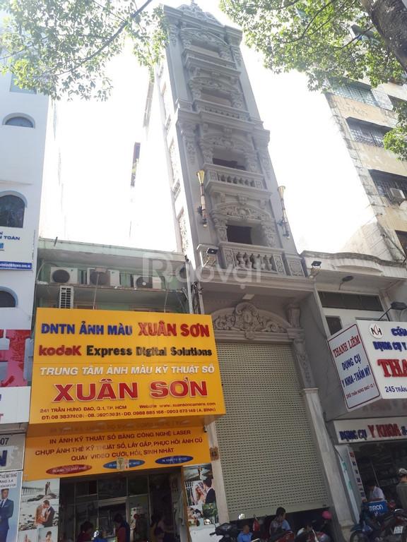 Bán nhà góc 2MT Nguyễn Thị Minh Khai, Q1, hầm 5 lầu, HĐ 210.06 triệu/t