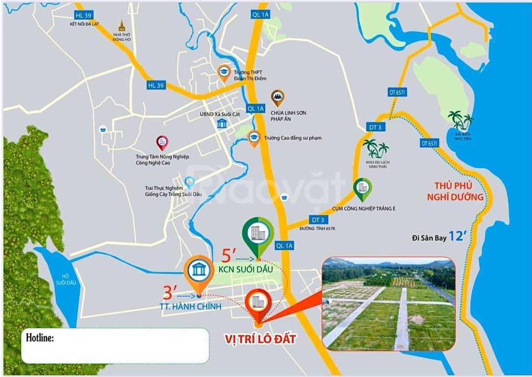 Bán đất đầu tư Cam Lâm Khánh Hòa