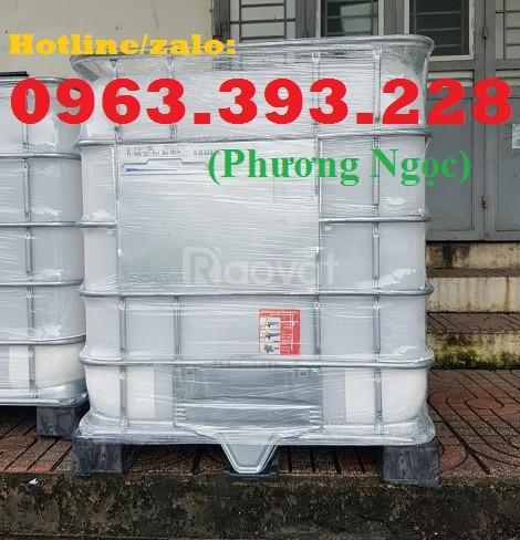 Tank nhựa 1 khối nhập khẩu, bồn 1000L chứa hóa chất