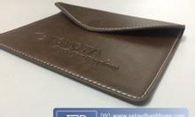 Nhận may túi ví da in logo làm quà tặng cho đối tác và khách hàng