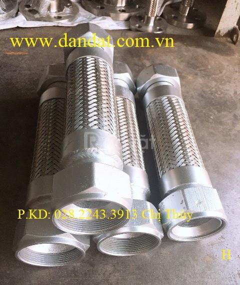 Chọn khớp nối mềm inox, khớp giãn nở DE-100, khớp co giãn DE200 (ảnh 7)