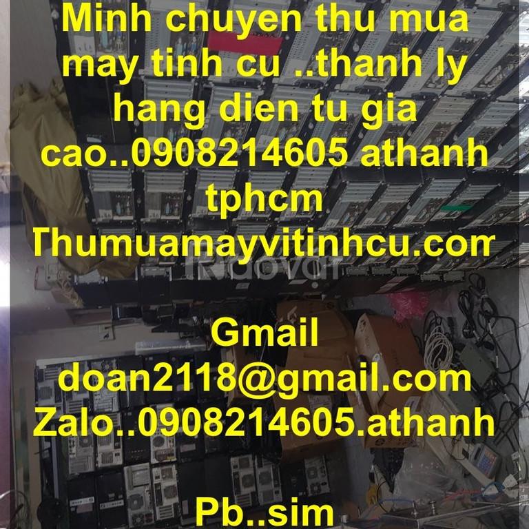 Thu mua máy tính cũ giá cao TPHCM
