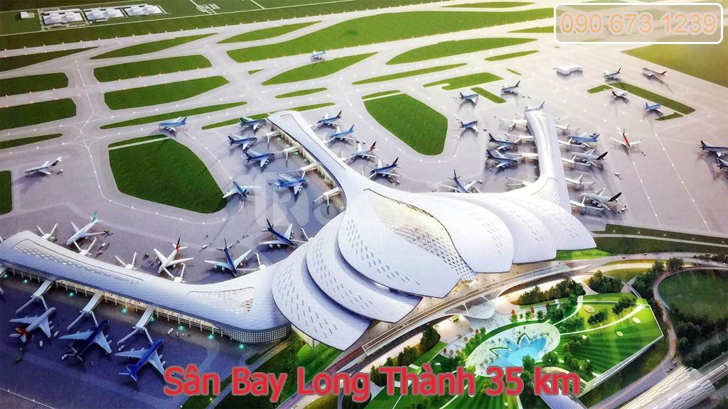 Đất 2 mặt tiền Hội Bài gần sân bay Long Thành