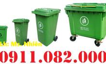 Bán thùng rác 120L 240L giá rẻ- thùng rác công nghiệp