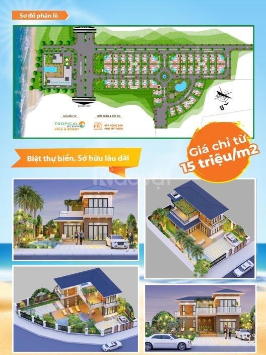 Tropical Ocean Villas & Resort, giá từ 15tr/m