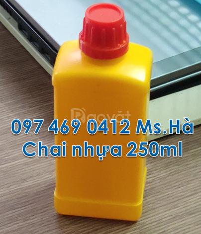 Bán chai nhựa, dụng cụ tròn 1 lít đựng hóa chất, chai 500ml,250ml