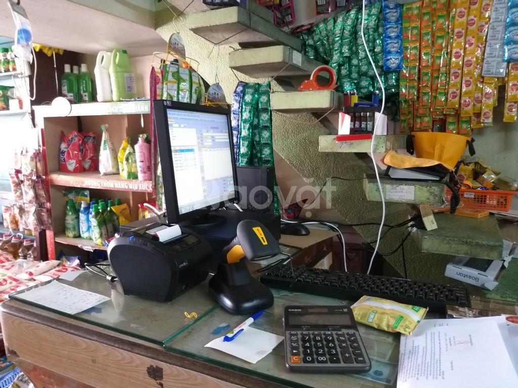 Lắp đặt máy tính tiền cho shop, tạp hóa tại Bình Định giá rẻ