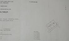 Bán nhà dân phường Gia Thụy dt 86m2 Đông nam 3 tầng ngõ 2,2m giá 4,3tỷ