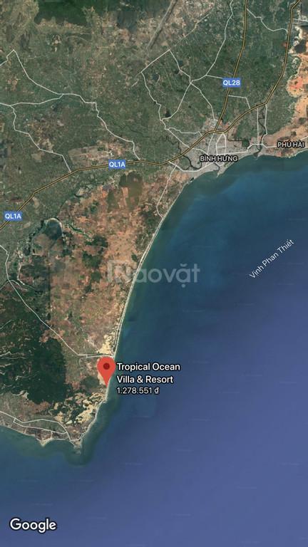 Đất nền biệt thự mặt tiền biển giá chỉ từ 15 triệu/m2, SHR vĩnh viễn!