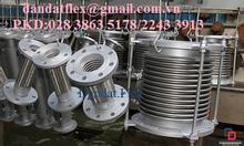 Ống lưới bện inox 304/ống mềm kim loại dẫn hoá chất-ống chôn bê tông.