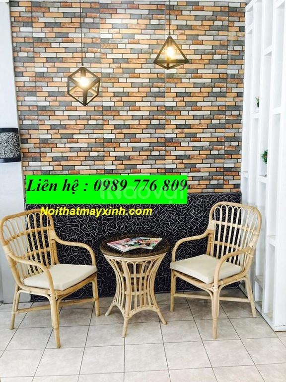 Bàn ghế mây tre đan giá rẻ TP HCM