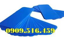 Tấm nhựa pp màu xanh dương, tấm nhựa pp danpla màu xanh dương