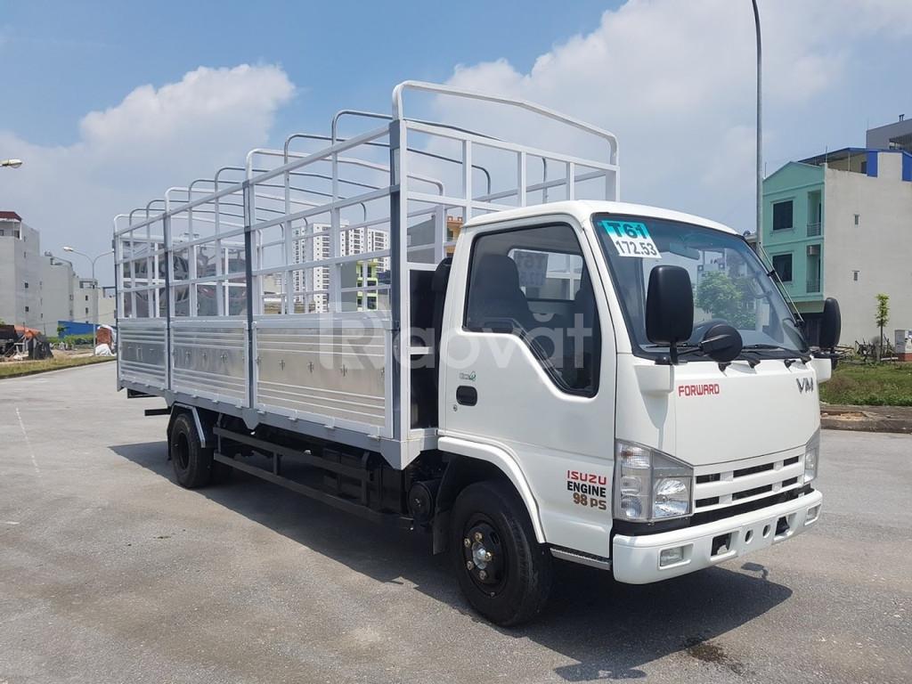 Xe tải isuzu 1t9 thùng dài 6m2 vào thành phố