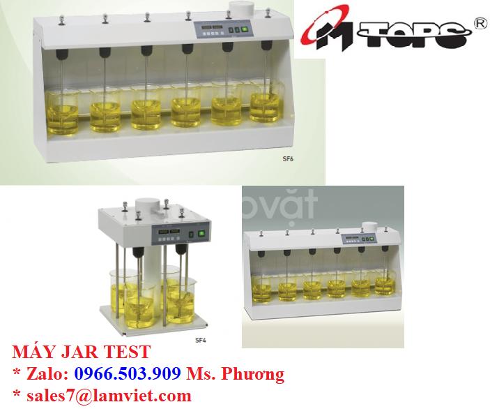Máy jar test 4,6 vị trí xuất xứ Hàn Quốc