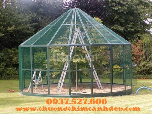 Thiết kế làm chuồng nuôi chim aviary, TP. HCM